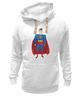 "Толстовка Wearcraft Premium унисекс ""Супермен (Superman)"" - супермен, superman, супергерой, dc"