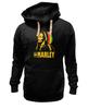 "Толстовка Wearcraft Premium унисекс ""Боб Марлей (Bob Marley)"" - регги, боб марли, bob marley, ska, jamaica"