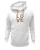 "Толстовка Wearcraft Premium унисекс ""LOVE "" - любовь, 14 февраля, valentine's day"