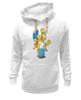 "Толстовка Wearcraft Premium унисекс ""Simpsons Family"" - симпсоны, the simpsons"