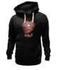 """Толстовка Wearcraft Premium унисекс """"Железный человек"""" - супергерои, мстители, железный человек, iron man, тони старк"""