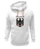 """Толстовка Wearcraft Premium унисекс """"Германия"""" - страны, герб, символика, германия"""