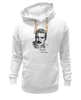 "Толстовка Wearcraft Premium унисекс ""Freddie Mercury - Queen"" - queen, фредди меркьюри, freddie mercury, куин, rock music"