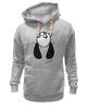 """Толстовка Wearcraft Premium унисекс """"Панда (Panda)"""" - панда, panda"""