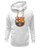 "Толстовка Wearcraft Premium унисекс ""Барселона"" - футбол, клуб, barcelona, барселона, испания, football club"