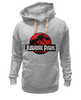"Толстовка Wearcraft Premium унисекс ""jurassic park "" - jurassic park, парк юрского периода"