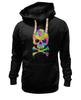 "Толстовка Wearcraft Premium унисекс ""Череп (Skull)"" - lsd, лсд, психоделик"
