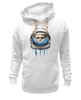 "Толстовка Wearcraft Premium унисекс ""Dead Astronaut"" - skull, череп, космос, astronaut, dead, cosmos, шлем, космонавт"