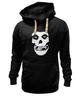 """Толстовка Wearcraft Premium унисекс """"Mistfits"""" - skull, череп, punk rock, отбросы, punk, панк, хоррор, мисфитс, хоррор панк, mistfits"""