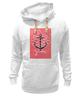 """Толстовка Wearcraft Premium унисекс """"Je t'aime"""" - любовь, море, якорь, anchor"""