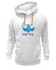"Толстовка Wearcraft Premium унисекс ""Sweet tweets"" - social network, twitter, твиттер, little bird, чирикать, микроблоггинг"