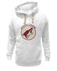 "Толстовка Wearcraft Premium унисекс ""Arizona Coyotes"" - хоккей, nhl, нхл, arizona coyotes, аризона койотс"