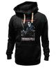 """Толстовка Wearcraft Premium унисекс """"Terminator"""" - кино, arnold schwarzenegger, терминатор, terminator, арнольд шварценеггер"""