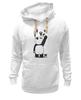 """Толстовка Wearcraft Premium унисекс """"Панда вандал"""" - животные, панда, panda, wwf"""