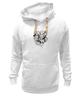 """Толстовка Wearcraft Premium унисекс """"Абстрактные цветы"""" - авторские майки, цветы, узор, винтаж"""