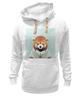 """Толстовка Wearcraft Premium унисекс """"Деловая панда"""" - стиль, панда, red panda, деловая, выдра"""