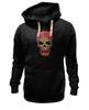 "Толстовка Wearcraft Premium унисекс ""Черепа"" - skull, кости, череп"