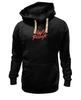 "Толстовка Wearcraft Premium унисекс ""Daft Punk logo"" - logo, электроника, daft punk, дафт панк, kinoart"