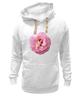 """Толстовка Wearcraft Premium унисекс """"Розовый бутон"""" - лето, цветы, розовый"""