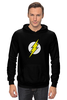 "Толстовка Wearcraft Premium унисекс ""The Flash (Молния)"" - comics, flash, dc, флэш"