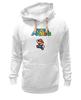 """Толстовка Wearcraft Premium унисекс """"Super Mario"""" - денди, dendy, марио, mario bros, 8bit"""