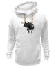 """Толстовка Wearcraft Premium унисекс """"Черный Бык"""" - животные, black, бык, bull"""