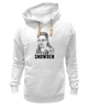 "Толстовка Wearcraft Premium унисекс ""Edward Snowden"" - америка, россия, цру, эдвард сноуден, edward snowden"
