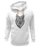 "Толстовка Wearcraft Premium унисекс ""волк (wolf)"" - графика, волк, wolf, дотворк"