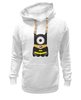 "Толстовка Wearcraft Premium унисекс ""Миньон "" - batman, мульт, миньон, гадкий я, minion"