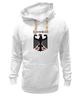 """Толстовка Wearcraft Premium унисекс """"Германия"""" - германия, символика, страны, герб"""