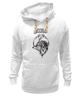 """Толстовка Wearcraft Premium унисекс """"Stiletto fox"""" - нож, fox, лиса, animal, животное, knives, ножы, стилет, knife, stylet"""