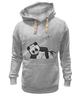 """Толстовка Wearcraft Premium унисекс """"панда"""" - юмор, панда"""