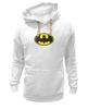 "Толстовка Wearcraft Premium унисекс ""Бэтман"" - batman, супергерой, бэтман"