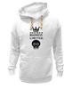 "Толстовка Wearcraft Premium унисекс ""Madness"" - crown, skull, корона, фэшн, череп"