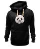 """Толстовка Wearcraft Premium унисекс """"Панда Пират"""" - bear, медведь, панда, panda, пират"""
