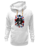 "Толстовка Wearcraft Premium унисекс ""Уинстон Черчилль "" - англия, uk, union jack, winston churchill, уинстон черчилль"