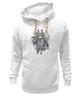 "Толстовка Wearcraft Premium унисекс ""Самурай Панда"" - панда, самурай, panda, samurai"