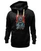 """Толстовка Wearcraft Premium унисекс """"Зомби Геймер"""" - череп, зомби, игры, геймер"""