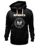 """Толстовка Wearcraft Premium унисекс """"Ramones """" - punk, панк, ramones, рамонес, joey ramone"""