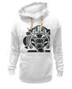 "Толстовка Wearcraft Premium унисекс ""Guru of trance"" - музыка, арт, стиль, trance, слон, транс, электроника, гуру, guru"
