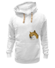 "Толстовка Wearcraft Premium унисекс ""Doge WOW!"" - интернет, мем, wow, doge, собакен"