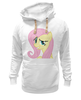 "Толстовка Wearcraft Premium унисекс ""My Little Pony: Флаттершай"" - pony, mlp, my little pony, пони, friendship is magic, fluttershy, флаттершай"