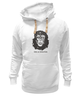 "Толстовка Wearcraft Premium унисекс ""Viva La Evolution"" - обезьяна, че гевара, куба, эволюция, che guevara"