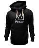 """Толстовка Wearcraft Premium унисекс """"Basquiat"""" - граффити, корона, basquiat, баския, жан-мишель баския"""