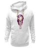 "Толстовка Wearcraft Premium унисекс ""Девушка космос"" - девушка, space, космос, принцесса, милота"