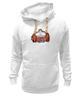"""Толстовка Wearcraft Premium унисекс """"Тигр культурист"""" - животные, тигр, пауэрлифтинг, gym, качек"""