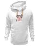 "Толстовка Wearcraft Premium унисекс ""Забавная кошка"" - модно, кошки, casual, bubble gum"