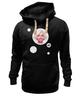 "Толстовка Wearcraft Premium унисекс ""Мэрилин Монро"" - арт, мэрилин монро, marilyn monroe, bubble gum, жевачка"