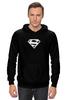 "Толстовка Wearcraft Premium унисекс ""Супермен"" - супер, supermen, s"