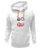 """Толстовка Wearcraft Premium унисекс """"Пончики! Donuts"""" - сладости, акварель, пончик, donuts"""